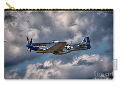 P-51 Mustang Carry-all Pouch by Carsten Reisinger