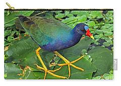 Purple Gallinule Feet Carry-all Pouch
