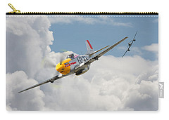 P51 Mustang And Me 262 Carry-all Pouch