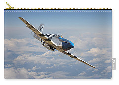 P51 Mustang - Symphony In Blue Carry-all Pouch
