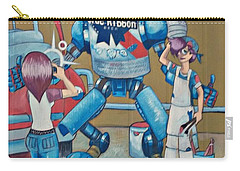 Pabst Mural In The Loop Carry-all Pouch