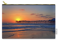 Pacific Beach Pier Sunset Carry-all Pouch