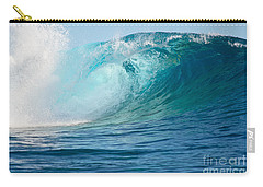Pacific Big Wave Crashing Carry-all Pouch by IPics Photography
