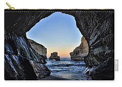 Carry-all Pouch featuring the photograph Pacific Coast - 2 by Mark Madere