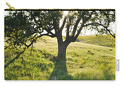 Carry-all Pouch featuring the photograph Pacific Coast Oak Malibu Creek by Kyle Hanson