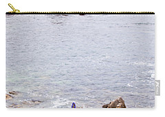 Pacific Grove Coastline Carry-all Pouch by Melinda Ledsome