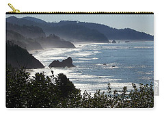 Pacific Mist Carry-all Pouch by Karen Wiles