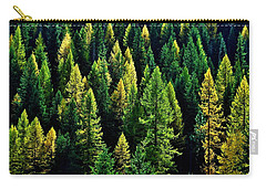 Carry-all Pouch featuring the photograph Pacific Northwest Autumn by Benjamin Yeager