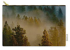 Pacific Northwest Morning Mist Carry-all Pouch