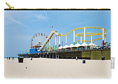 Pacific Park, Santa Monica Pier, Santa Carry-all Pouch