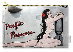 Carry-all Pouch featuring the photograph Pacific Princess by Kathy Barney