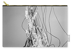 Pacific Sea Nettle - Black And White Carry-all Pouch