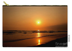 Pacific Sunset Reflection Carry-all Pouch