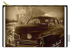 Packard Classic At Truckee River Carry-all Pouch by Bobbee Rickard