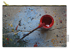 Paint The Town Red Carry-all Pouch by Nola Lee Kelsey