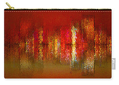 Paint The Town Red Carry-all Pouch by Stuart Turnbull