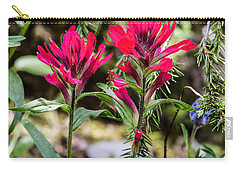 Carry-all Pouch featuring the photograph Paintbrush by Michael Chatt