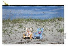 Painted Beach Chairs Carry-all Pouch