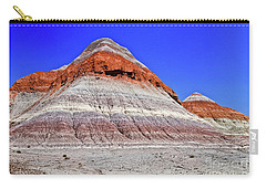 Carry-all Pouch featuring the photograph Painted Desert National Park by Bob and Nadine Johnston