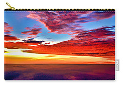 Carry-all Pouch featuring the photograph Painted Heavens by Adam Olsen