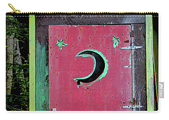 Painted Outhouse Carry-all Pouch