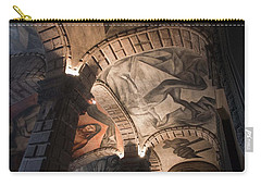 Painted Vaults Carry-all Pouch by Lynn Palmer