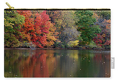 Carry-all Pouch featuring the photograph Painted Water by Richard Bryce and Family