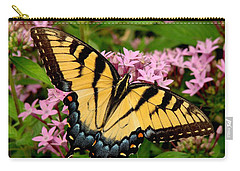 Painted Wings Carry-all Pouch by Rodney Lee Williams