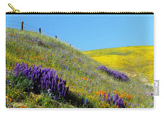 Painted With Wildflowers Carry-all Pouch