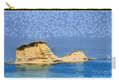 Islet In Peroulades Area Carry-all Pouch