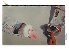 Painting Paint Carry-all Pouch by Rachel Hames