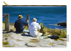 Painting The View Carry-all Pouch