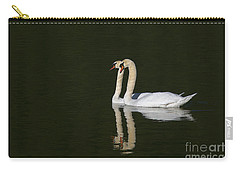 Pair Of Mute Swans Carry-all Pouch