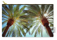 Pair Of Palms Vegas Style Carry-all Pouch