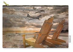 Pairs Along The Coast Carry-all Pouch by Betsy Knapp