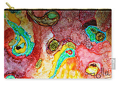 Paisley Whispers.. Carry-all Pouch