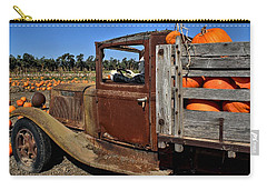 Carry-all Pouch featuring the photograph Pale Rider by Michael Gordon