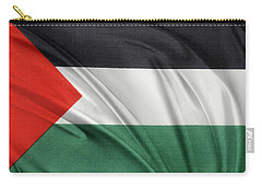 Palestine Flag Carry-all Pouch by Les Cunliffe