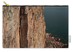 Carry-all Pouch featuring the photograph Palisade Depths by James Peterson