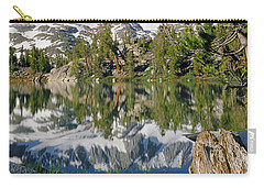 2m6443-v-palisade Peaks And Summit Lake V Carry-all Pouch