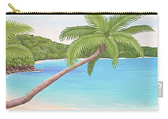 Palm In Paradise Carry-all Pouch