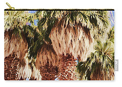 Palm Carry-all Pouch by Muhie Kanawati