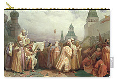 Palm Sunday Procession Under The Reign Of Tsar Alexis Romanov Carry-all Pouch