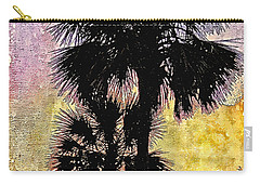 Palm Sunset Carry-all Pouch by Kathy Bassett