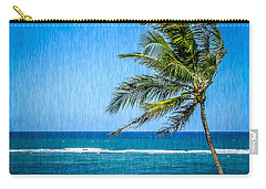 Palm Tree Swaying Carry-all Pouch