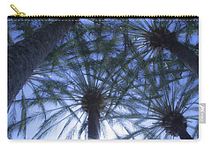 Carry-all Pouch featuring the photograph Palm Trees In The Sun by Jerry Cowart