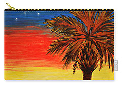 Palmetto Moon And Stars Carry-all Pouch