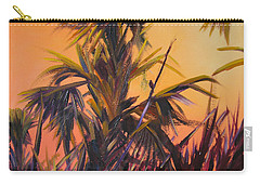 Palmettos At Dusk Carry-all Pouch