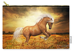 Palomino Horse Sundance  Carry-all Pouch by Shanina Conway