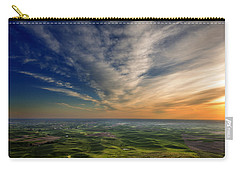 Palouse Sunset Carry-all Pouch by Mary Jo Allen